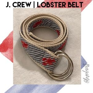 J. Crew lobster belt | small / medium